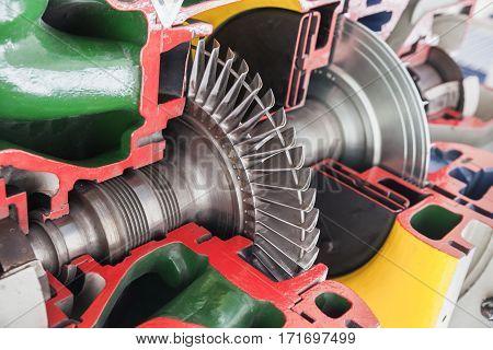 Turbine Structure Model