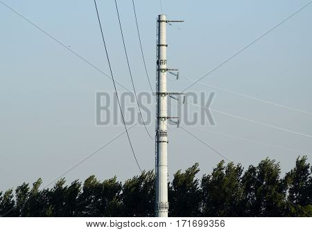 Power Line Support