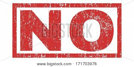 No text rubber seal stamp watermark. Tag inside rectangular shape with grunge design and dust texture. Horizontal vector red ink emblem on a white background.