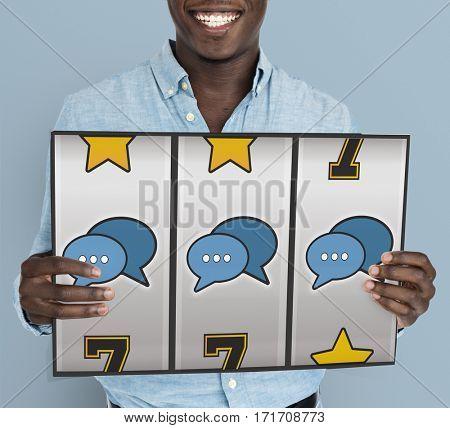 Slot Machine Chatting Game Roller