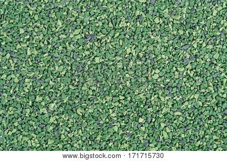 green synthetic sport surface texture detail closeup
