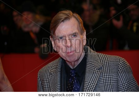 Timothy Spall during the 'The Party' premiere during the 67th Berlinale  Film Festival Berlin at Berlinale Palace on February 13, 2017 in Berlin, Germany.
