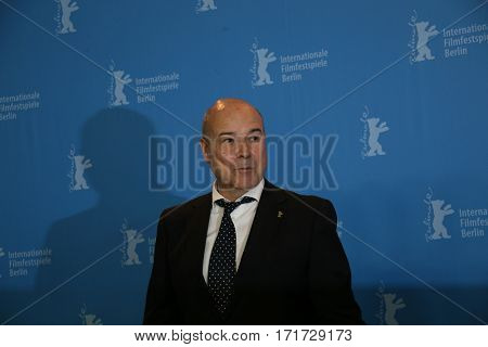 Actor Antonio Resines attends the 'The Queen of Spain' (La Reina de Espana) photo call during the 67th Berlinale Film Festival Berlin at Grand Hyatt Hotel on February 13, 2017 in Berlin, Germany.
