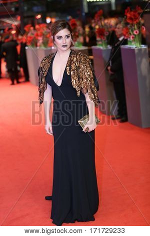 Blanca Suarez attends the 'The Bar' (El Bar) premiere during the 67th Berlinale International Film Festival Berlin at Berlinale Palace on February 15, 2017 in Berlin, Germany.