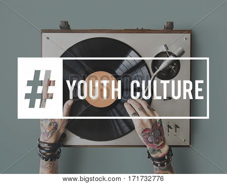 Music Young Attitude Youth Power