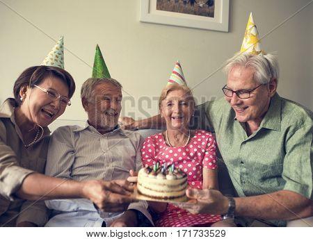 Senior Life Celebration Cake Birthday