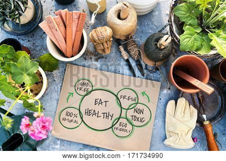 100% Natural Nutrition Healthy Eating Life