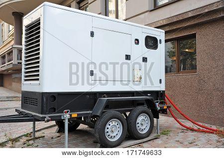 Mobil Electric Generator.