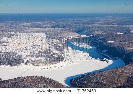 Pavlovskaya hydroelectric plant - hydroelectric power station, located near the village of Pavlovka on the river Ufa in Bashkortostan.