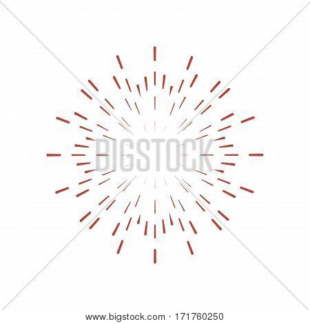 Sunburst Frame. Retro Vector & Photo (Free Trial) | Bigstock