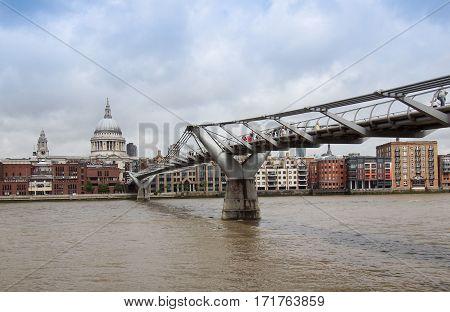 River Thames North Bank, London