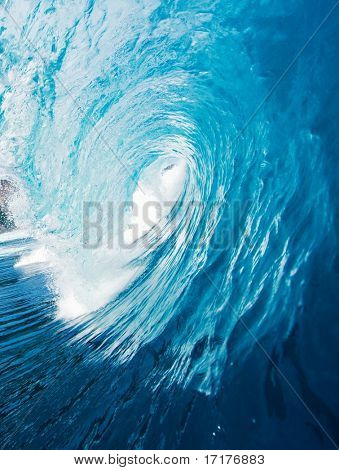 Epic Surfing Wave