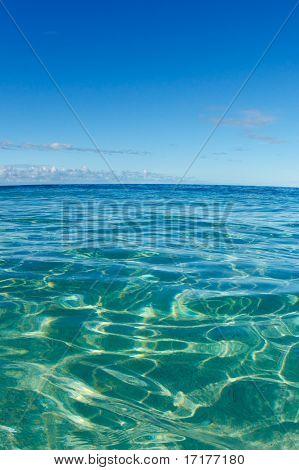 Blue Tropical Ocean