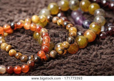 Semi-precious Stone Bracelet