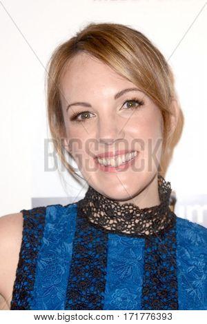 LOS ANGELES - FEB 15:  Jennifer Zaborowski at the