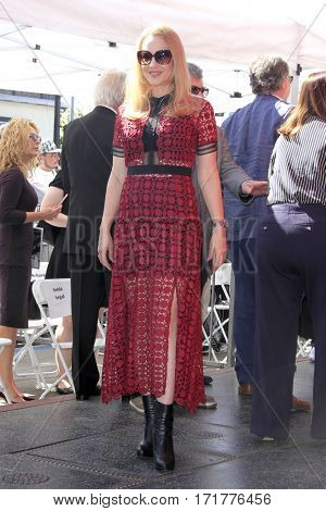 LOS ANGELES - FEB 14:  Wendi McLendon-Covey at the George Segal Star Ceremony at the Hollywood Walk of Fame on February 14, 2017 in Los Angeles, CA