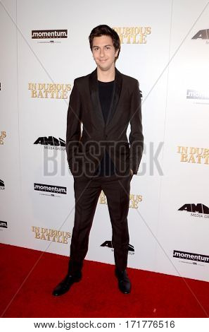 LOS ANGELES - FEB 15:  Nat Wolff at the