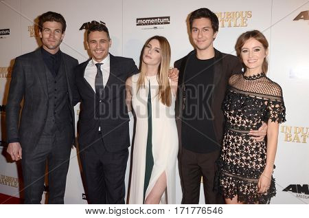 LOS ANGELES - FEB 15:  Cast members of