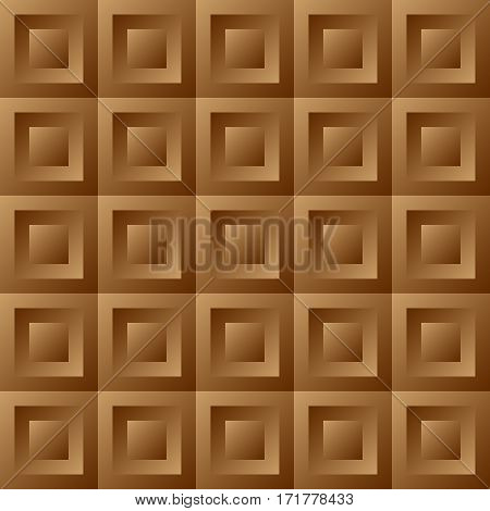 Abstract Background Brown Tiles