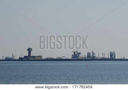 NORTHERN PORT - Fuel terminal in the Northern Port in the Gulf of Gdansk