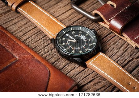 Military Style Watch