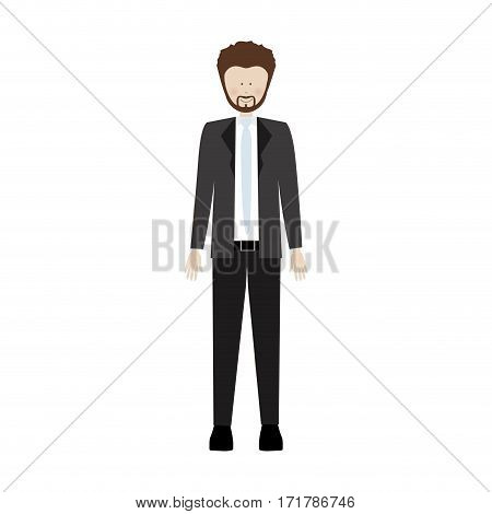people man with wedding dress icon image, vector illustration