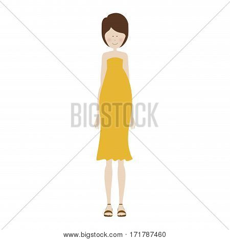 people pregnant woman icon image, vector illustration design