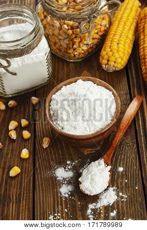 Corn Starch On The Table