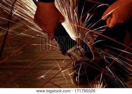 Electric Grinder - Sparks Flying