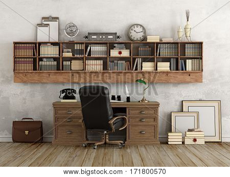 Worplace In Classic Style