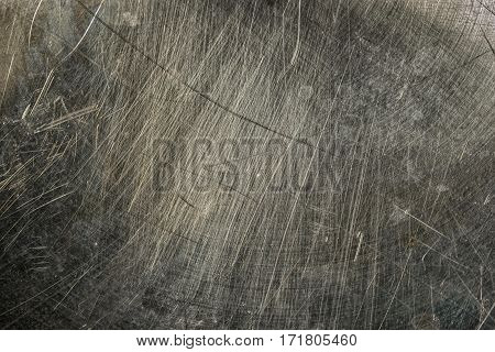 Scratched Metal Texture. Grunge Iron Plate. Industrial Metal Background.