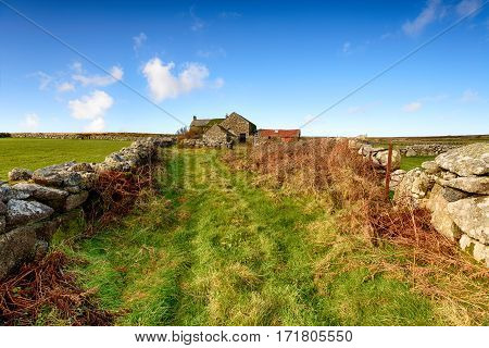 Old Farm In Cornwall