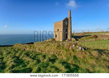 Wheal Owles Engine House