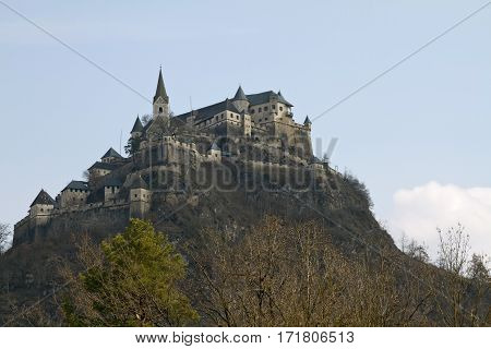 Hochosterwitz Castle is one of the most impressive medieval castles in Austria