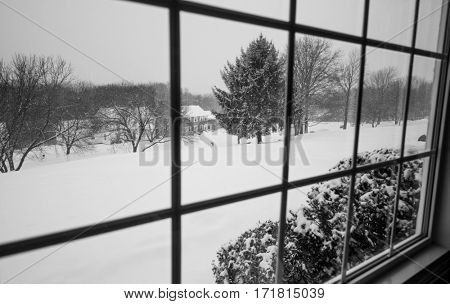 New England snow storm