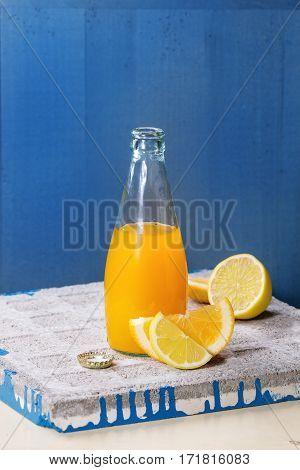 Bottle Of Citrus Lemonade