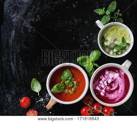 Cold Vegetarian Soups