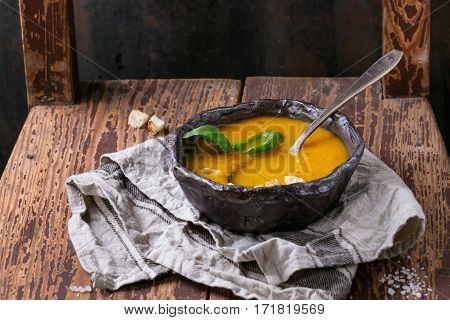 Bowl Of Carrot Soup