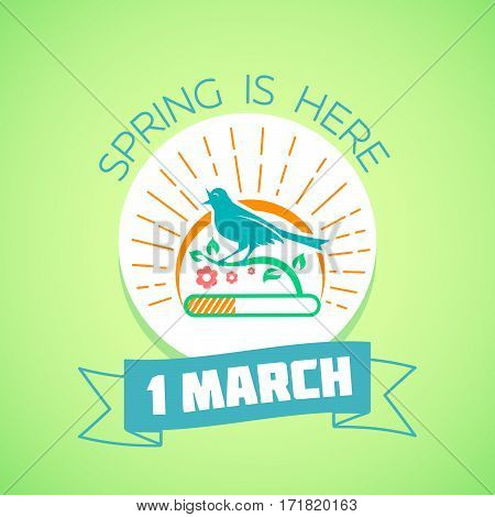 1 March - Spring Green