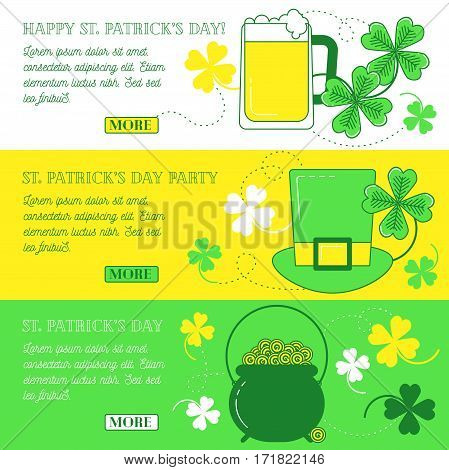 Web Banners With Clover,