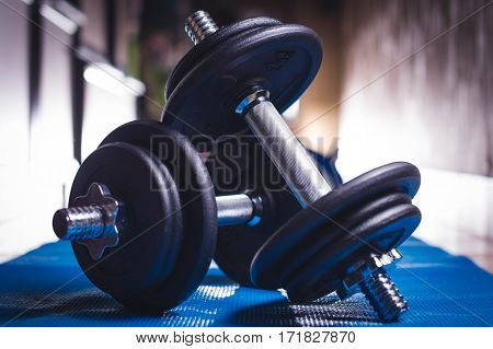 Sports accessories for weightlifting, Dumbbells, free weights