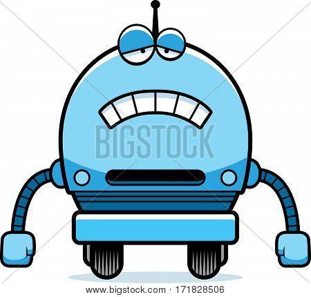 Sad Male Robot