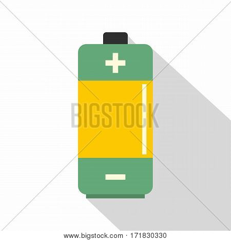 AA Alkaline battery icon. Flat illustration of AA Alkaline battery vector icon for web isolated on white background