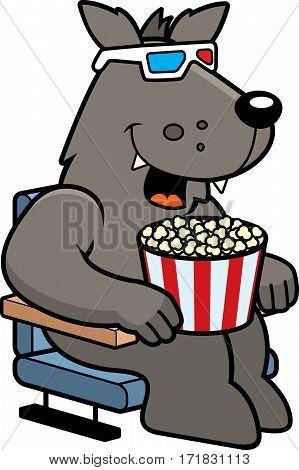 Cartoon Wolf 3D Movie