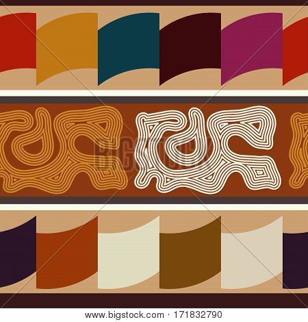 Indian ethnic Abstract seamless texture. Bright pattern with ornament.