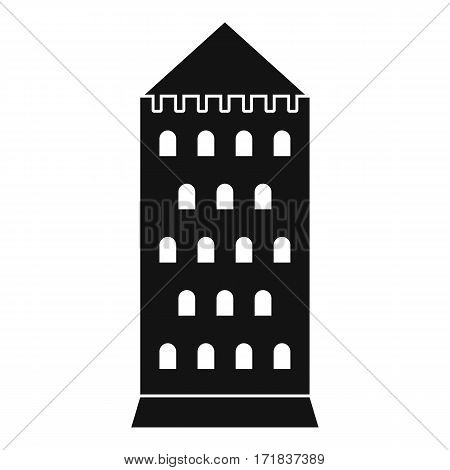 Ancient building icon. Simple illustration of ancient building vector icon for web
