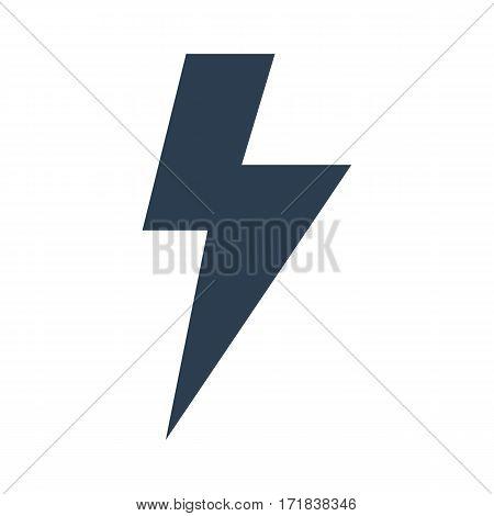 Lightning Icon.vector Illustration