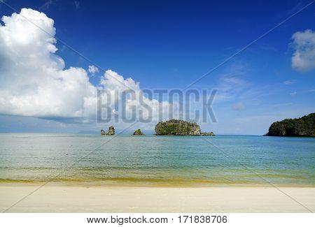 Langkawi Beach, Malaysia, Asia