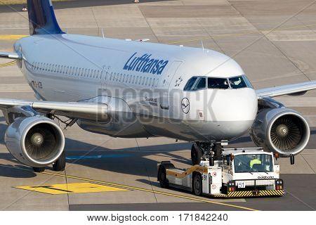 Lufthansa Airbus A320-200 Aircraft