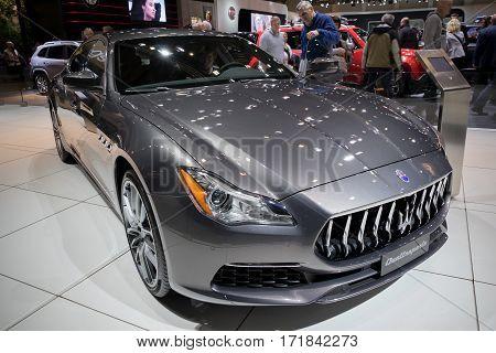 Maserati Quattroporte Car